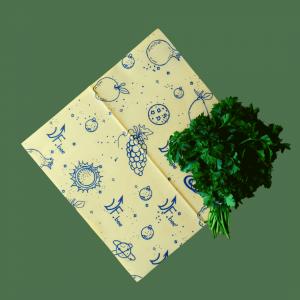 Вощеная обертка для хранения овощей