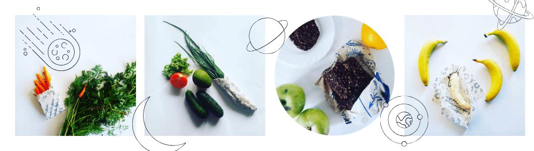 Вощена обгортка це екологічна альтернатива харчовій плівці.
