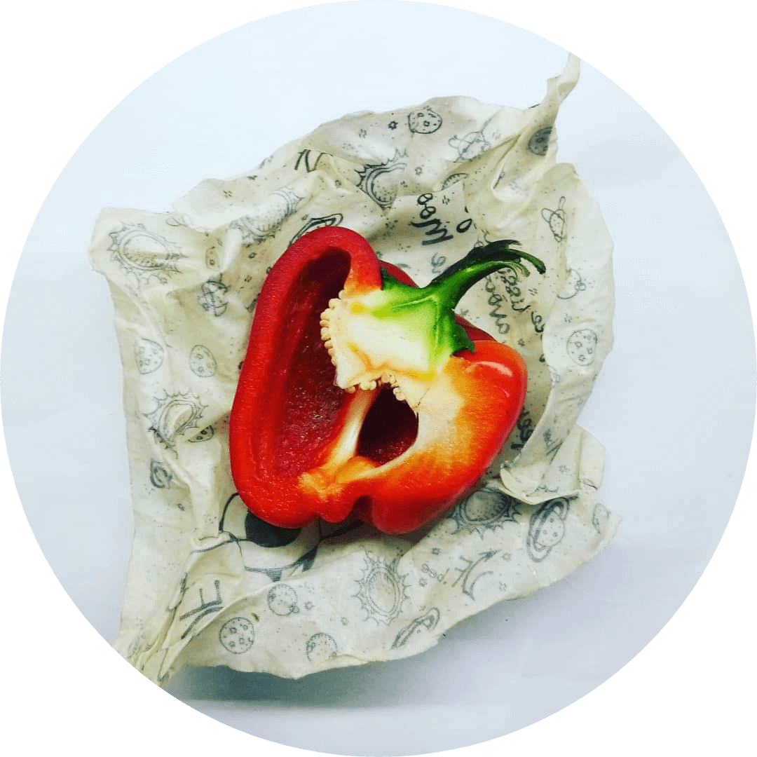 circled pepper