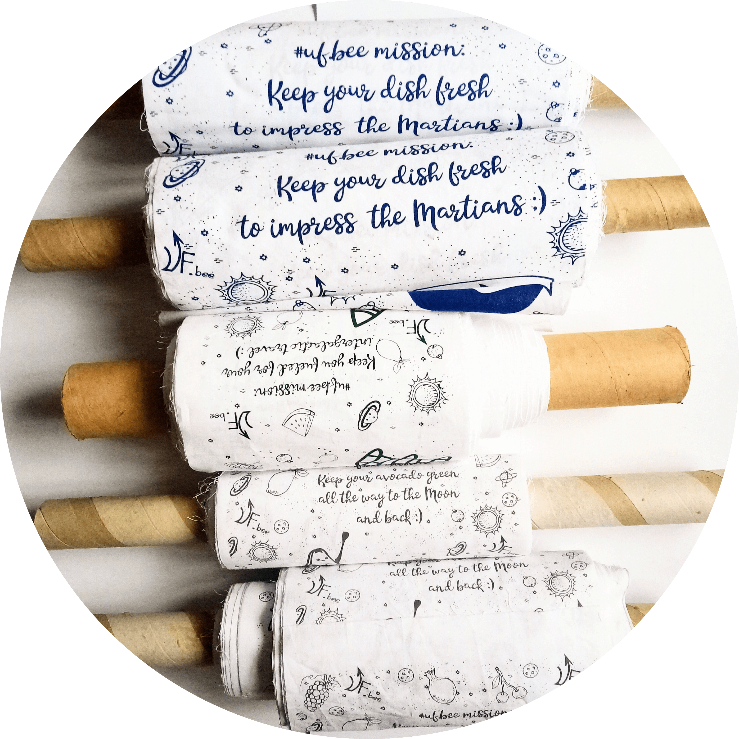 private label beeswax wraps