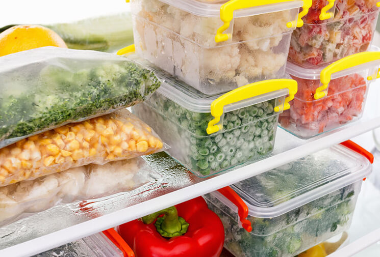як заморозити продукти